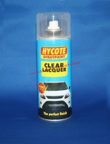 Clear Lacquer Spray Paint Hycote 400ml Aerosol